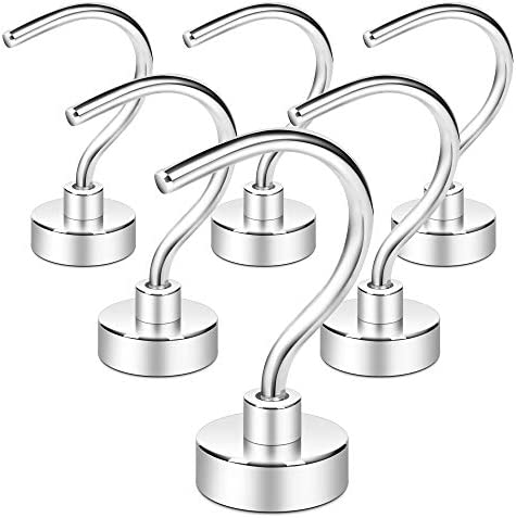 Neosmuk Magnetic Hooks 35lb Large Opening Cruise Essentials Hook CNC Machined Base Ideal for product image