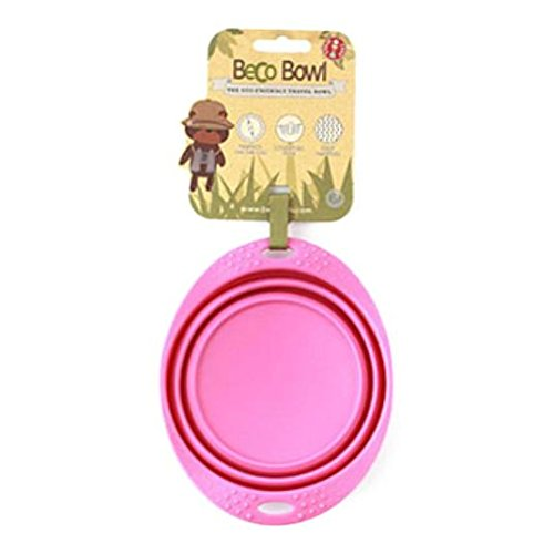 Becothings pliable Gamelle de voyage Taille M Rose