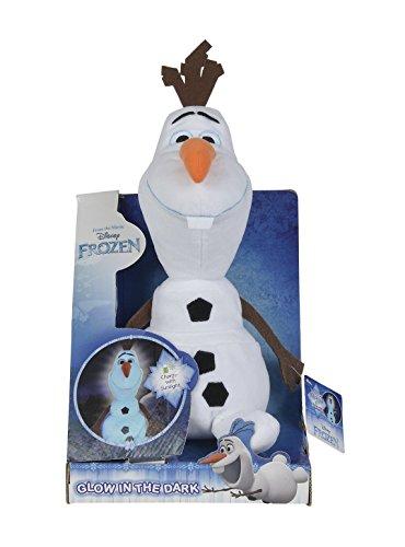 Simba 6315871154 - Disney Frozen Plüsch Olaf leuchtet im Dunkeln