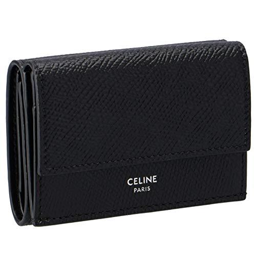 CELINE(セリーヌ) 財布 三つ折り ミニ財布 フォールデッド ウォレット 三つ折り財布 10E60 3BEL 38SI [並行輸入品]