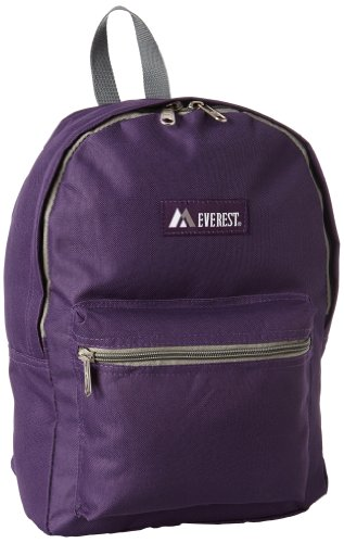 Everest Basic Backpack, Eggplant Purple, One Size