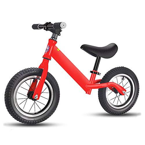 LYXCM Bicicleta Sin Pedales Ultraligera, Bicicleta de Scooter para niños sin Pedal para niños de 2 a 8 años en Bicicleta de Juguete para niños Ligeros
