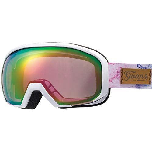 SWANS(スワンズ)スキースノーボードゴーグルくもり止めメガネ使用可ミラースキースノーボード080-MDHSGLW