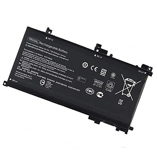 WXKJSHOP TE03XL - Batteria di ricambio compatibile con HP Pavilion 15-BC060NR 15-BC067NR 15T-BC000 15-bc014nl 15-bc001TX 15-bc002TX 15-bc003TX 15-bc004TX 3ICP7/65/80 849570-543 TPN-Q173 HSTNN-UB7A