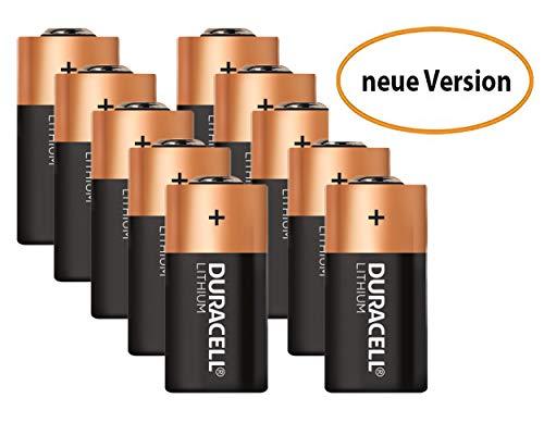 Duracell High Power Lithium CR2 Batterie 3 V, 10er-Packung (CR15H270) entwickelt für die Verwendung in Sensoren, schlüssellosen Schlössern, Blitzlicht und Taschenlampen