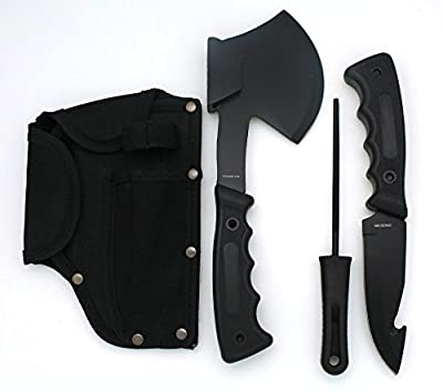 Snake Eye Tactical Heavy Duty 4PC Big Game Hunting Knife Set Camping Fishing Hunting Outdoors
