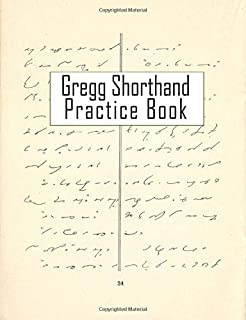 Gregg Shorthand Practice Notebook: 150 Blank Ruled Pages to Improve Your Forms