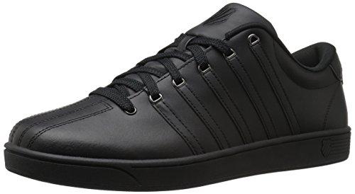 K-Swiss Men's COURT PRO II Fashion Sneaker, black/Gunmetal, 9 M US
