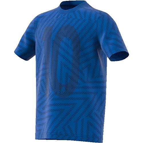 adidas Messi Icon Jersey Camiseta, Niños, Azul, 164 (13/14 años)