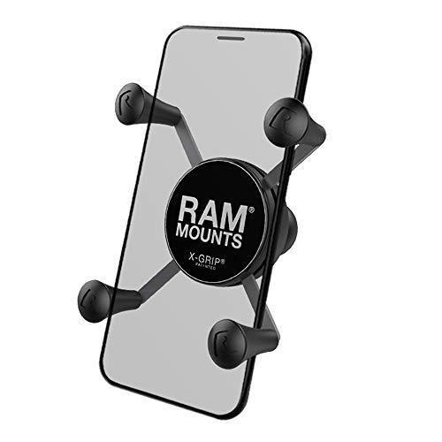 RAM Mounts Universal X-Grip Halteklammer für Smartphones mit 1-Zoll Kugel (RAM-HOL-UN7BU)