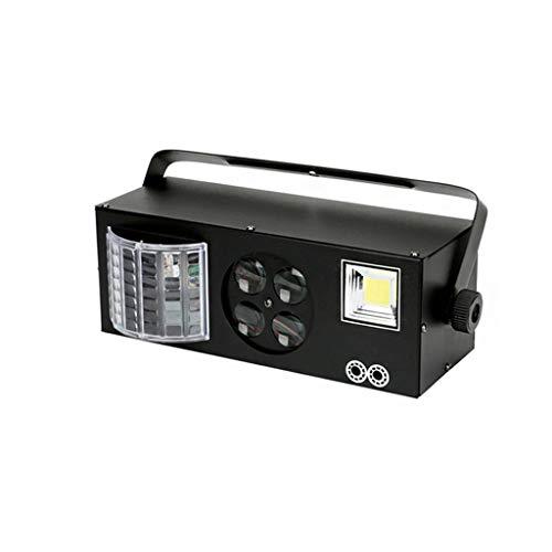 ✨ Lámpara de Escenario 11 Luces de Fiesta de Discoteca con LED Cuatro en uno Discolight Activación de Sonido Efectos de Flash RGBWY Lámparas de iluminación de escenarios