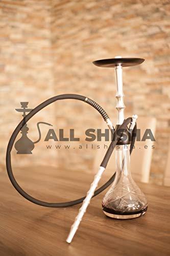 Allshisha Al-Mani Cachimba Ringo Silver Hookah Cachimba