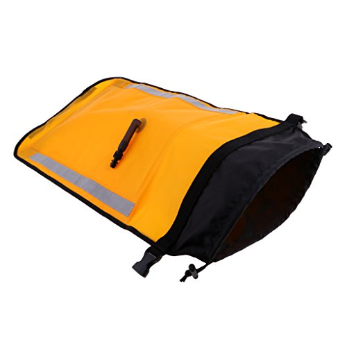 FLAMEER Portable 71 Cm Mar Kayak Paddle Float Bag para Canoa Surf Cance Sup Accesorio Barco