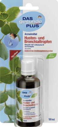 DAS gesunde PLUS Husten- und Bronchialtropfen, 50 ml Arzneimittel