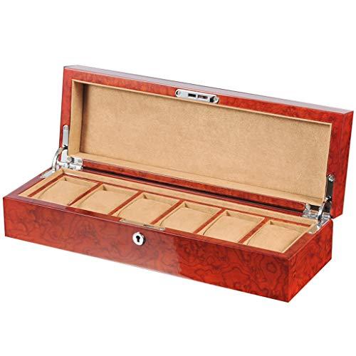 Caja de almacenamiento de reloj de madera caja de reloj caja de...
