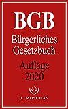 BGB: Bürgerliches Gesetzbuch I Aktuelle Auflage 2020 (German Edition)