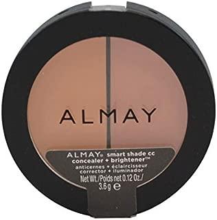 Almay Smart Shade CC Concealer + Brightener, Light/Medium 0.12 oz