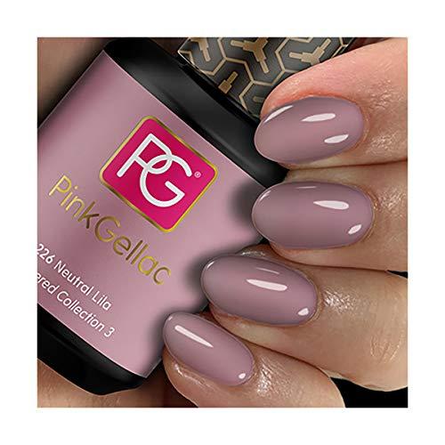 Pink Gellac Gel Nagellak Kleur 226 Neutral Lila