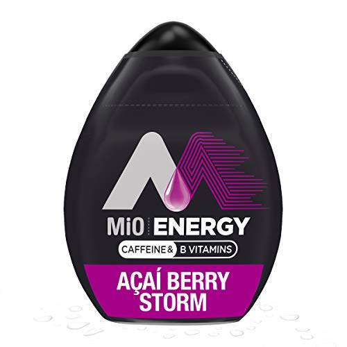 MiO Energy Acai Berry Storm Liquid Water Enhancer Drink Mix (1.62 fl oz Bottle)