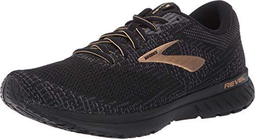 Brooks Revel 3 Running Shoe Black/Ebony/Gold 11.5 D (M)
