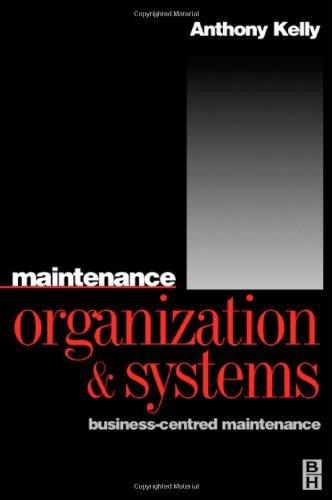 Maintenance Organization and Systems (English Edition)