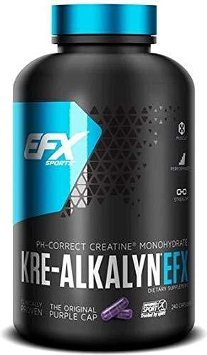 EFX Kre-Alkalyn 3000 - 240 Kreatin Kapseln (120 Portionen pro Behälter)