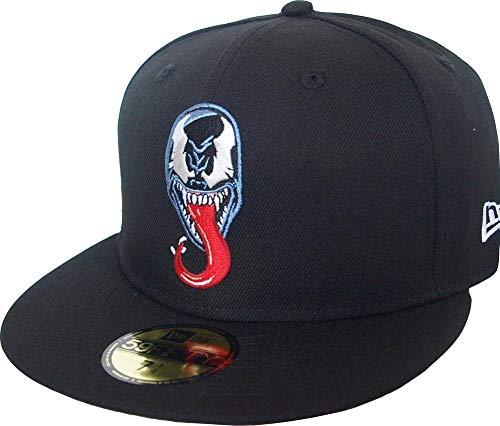 New Era Venom Logo PE Red UV 59fifty 5950 Gorra ajustada Marvel...