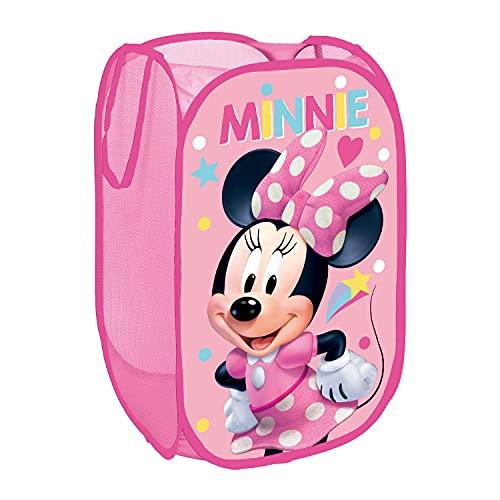 Minnie Maus NEU Spielzeugkiste Spielzeugbox Pop-Up Wäschekorb Aufbewahrungsbox Kleiderbox Mini Mouse