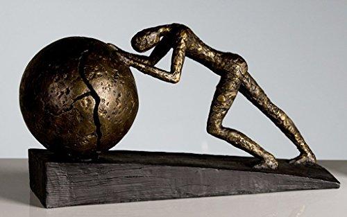 Casablanca design - Scultura Heavy Ball, 37 x 21,5 cm, bronzo