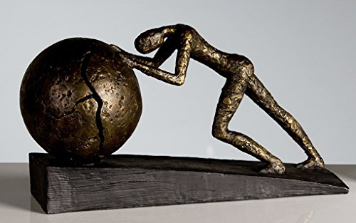 Casablanca design - Scultura Heavy Ball, 37 x 21,5 cm, bronzo
