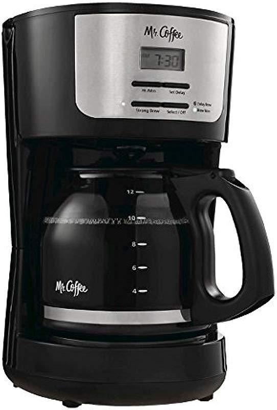 Mr Coffee 12 Cup Programmable Coffeemaker Black