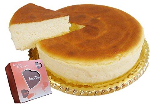 Bon'n'Bon(ボナボン) お取り寄せ 大阪の行列スイーツ 口解けまろやか濃厚ふわとろチーズケーキ ギフトボックス入り 5号(430g)