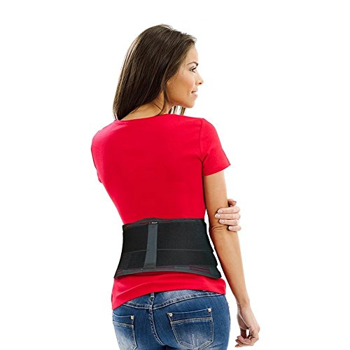 AidBrace Back Brace for Lower Back Pain Relief for Men & Women...