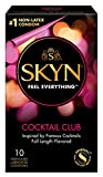 Lifestyles Skyn Cocktail Club Non-Latex Condoms, 10 Count