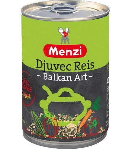 Djuvec Reis Balkan Art von MENZI, 400g