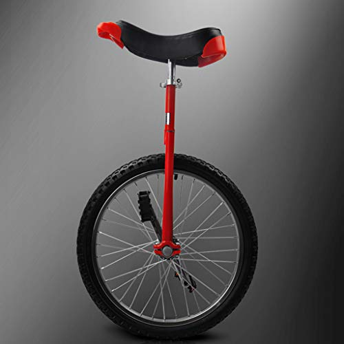 Review Lahshion Wheel Trainer Unicycle, Balance Bikes Wheelbarrow,Freestyle Unicycle 16(Red)