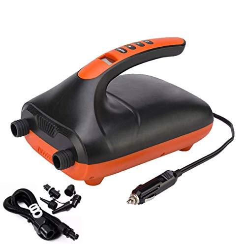 Why Choose TIN-YAEN 20PS Air Pump LED Displa for SUP & Paddle Board I High Pressure Portable 12V Dig...
