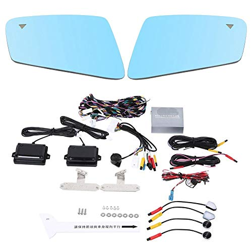 Best Buy! Radar Blind Spot Sensor Maximum Detection Range 15M BSD Car Blind Spot Detection System 24...