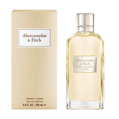 Abercrombie & Fitch First Instinct Sheer 100ml EDP, Zapatillas Unisex adulto, Negro,...