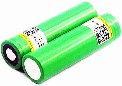 Batería de Iones de Litio Recargable VTC6 3.7V 3000mAh 18650 US18650VTC6 30A 60A Herramientas de batería de Alta Potencia Linterna-2pcs