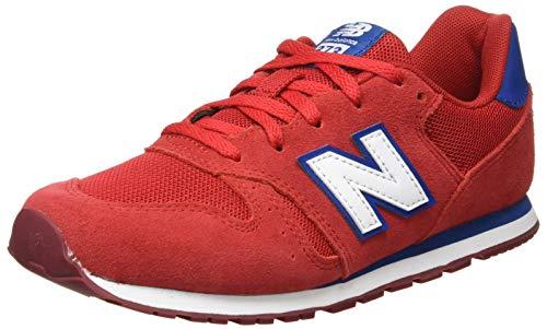 New Balance 373, Zapatillas Niños, Team Red, 36 EU