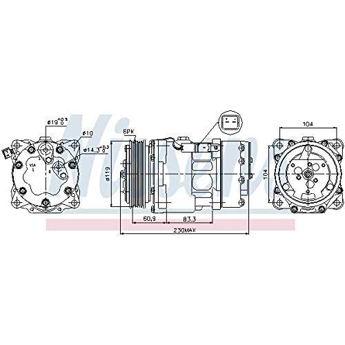 Nissens 89032 Clima compressori