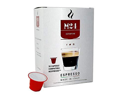 120 Cápsulas de Café Compatibles con Máquinas Nespresso - Caffè H24 - espresso napolitano (120)