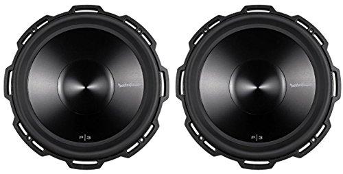 2 ROCKFORD FOSGATE P3D2-15 15' 2400 Watt 2-Ohm Car Audio Subwoofers Sub P3D215