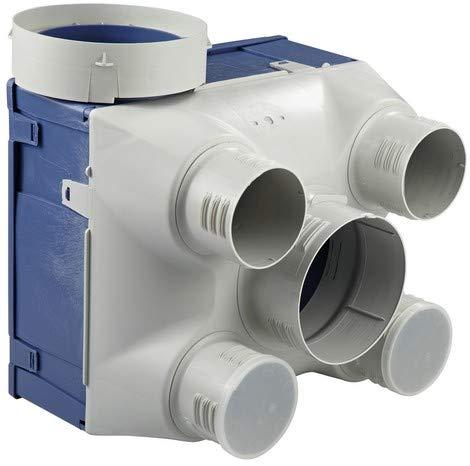 pas cher un bon Ventilation électrique à humidité contrôlée avec kit VMC, faible débit, évacuation des gaz d'échappement de type «A» et «B»