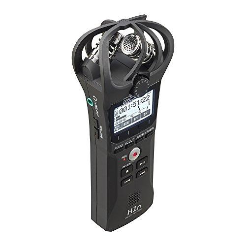 ZOOMズームハンディレコーダーブラック90°XY方式のステレオマイク搭載高音質録音手のひらサイズコンパクトH1n