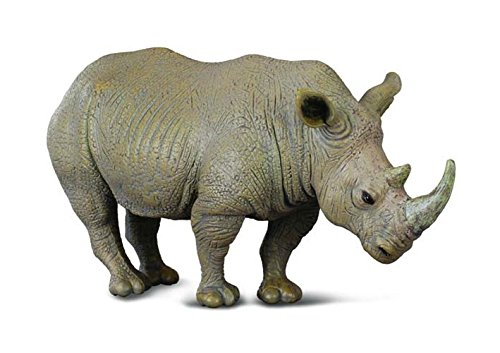 Collecta – 3388031 – Figur – Wildtiere – Nashorn – Weiß