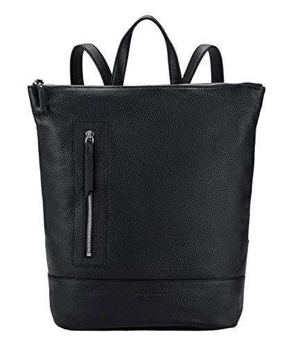 Liebeskind Berlin Damen L-bag - Backpack Large Rucksackhandtasche, Schwarz (Black), 12x38x26 cm