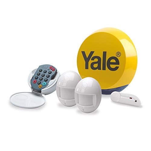 Yale YES-ALARMKIT Essentials Alarm Kit, Battery Powered, up to 20 Add-on Accessories, No monitoring fee