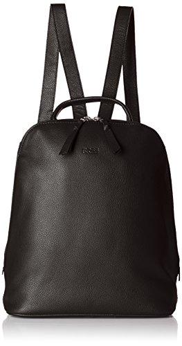 BREE Damen Cary 4 Henkeltasche, Schwarz (Black), 12.5x32x27 cm